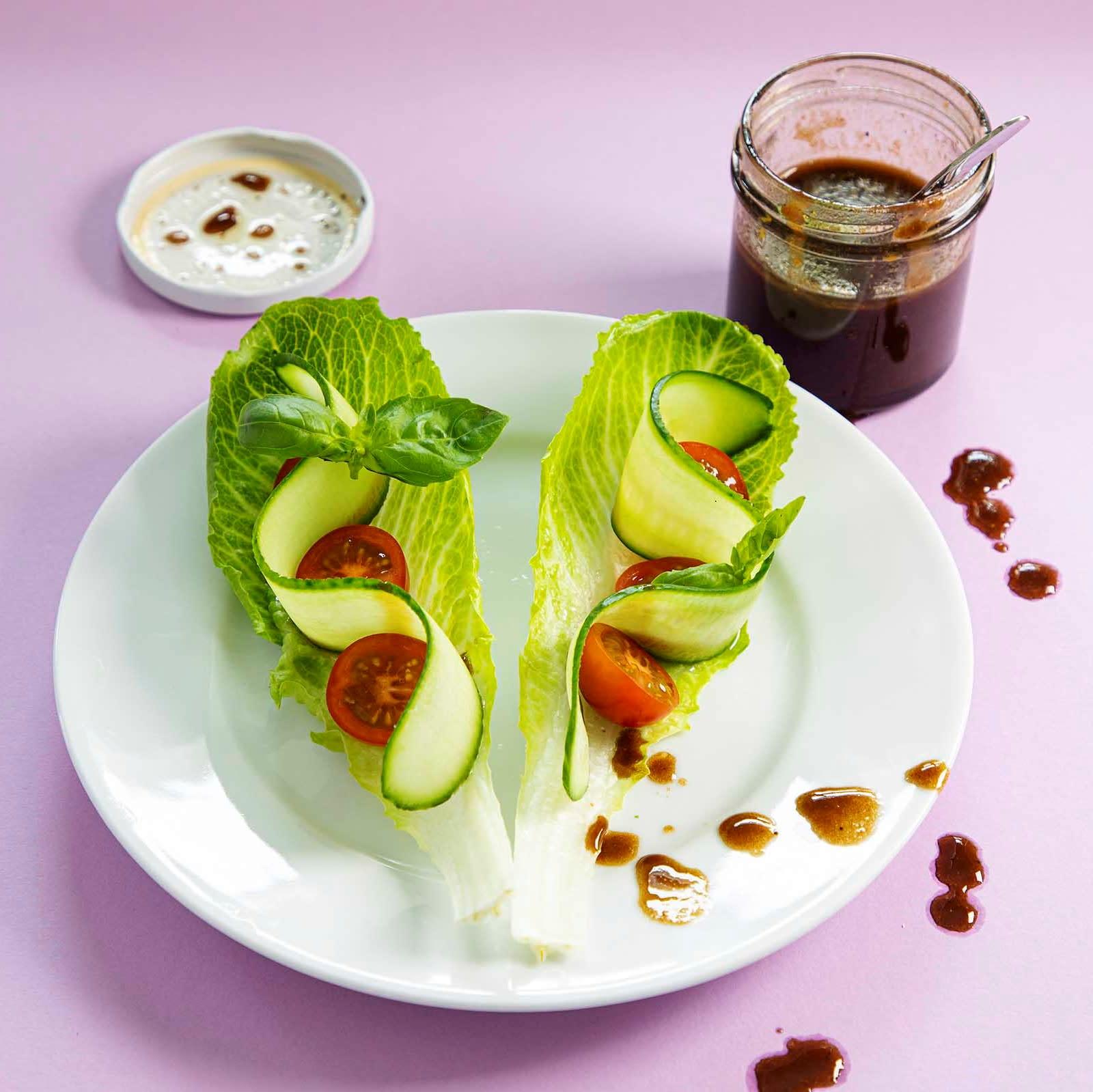 Kahden kerroksen salaatinkastike