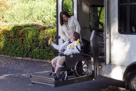 using-wheelchair-lift