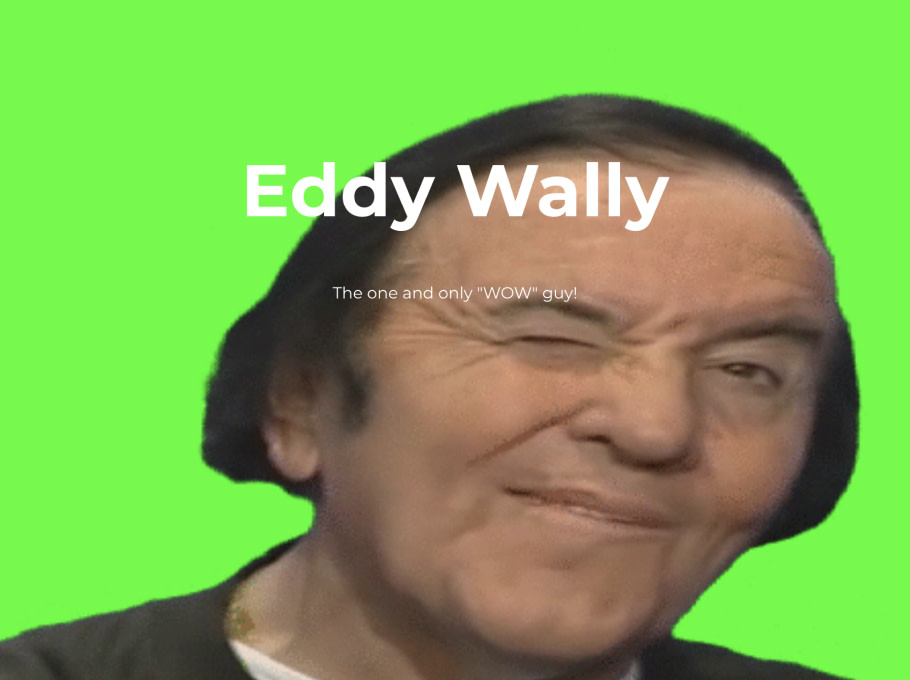 neverforget.eddywally/, built with Handshake.