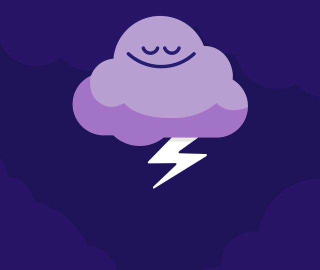 Sleep - Homepage Image - Lightning Cloud