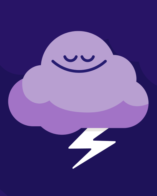 Sleep - Article Image - Lightning Cloud