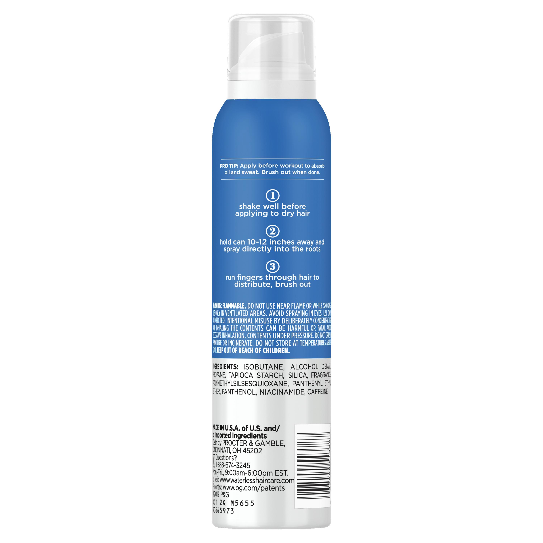 Waterless Dry Shampoo No Residue