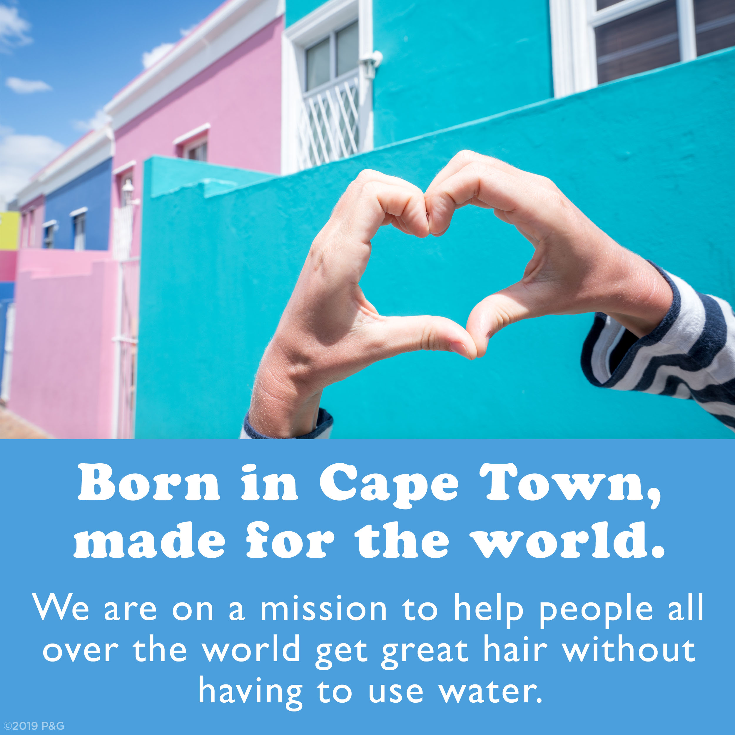 Born in Cape Town, made for the world. We are on a mission to help people all over the world get great hair without having to use water.
