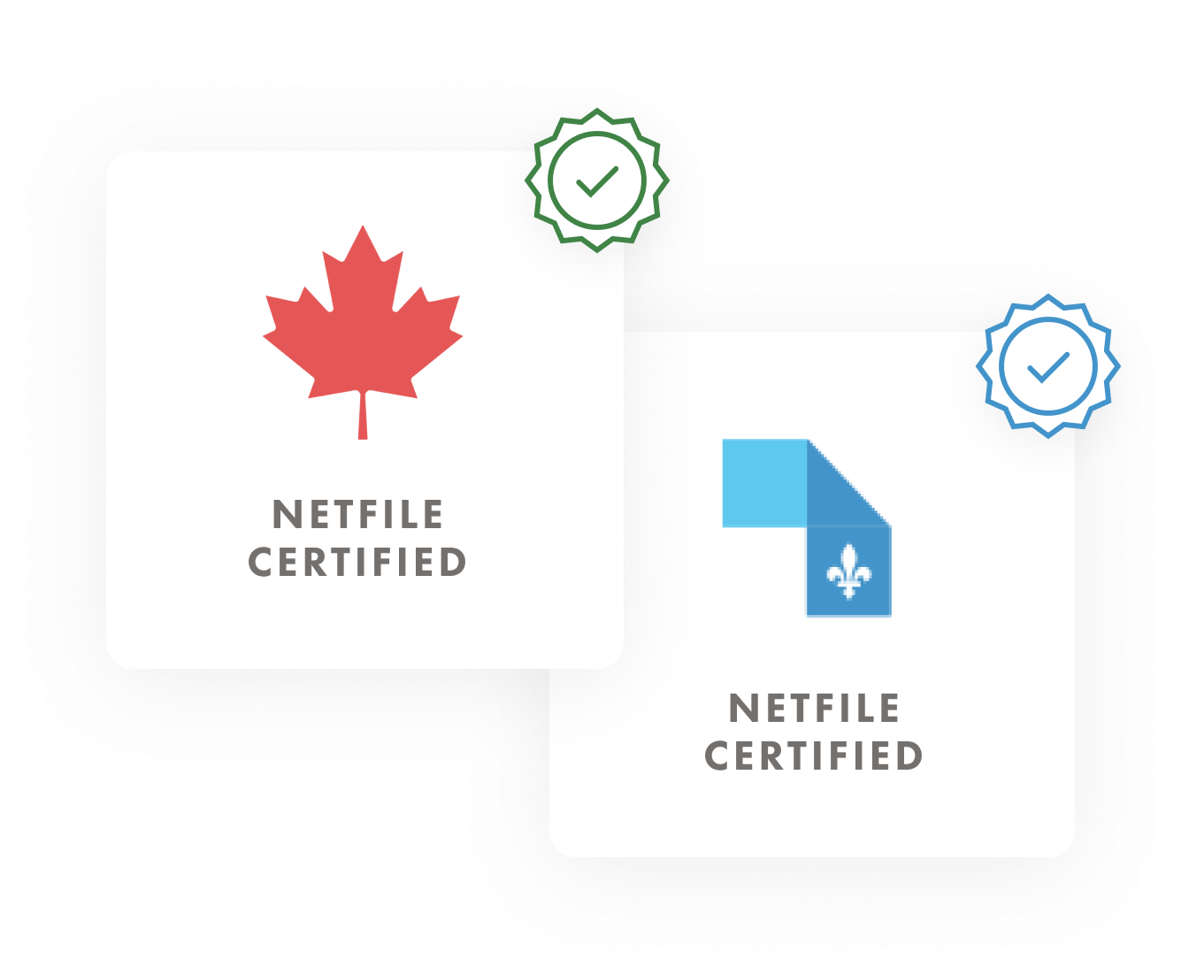 Netfile Certification Badges