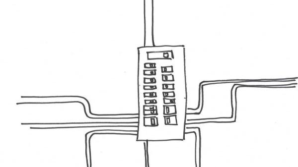 Sketch of a breaker