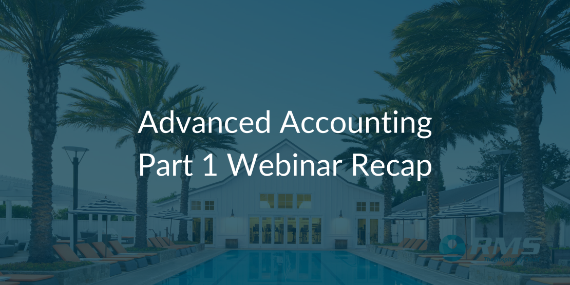 Advanced Accounting Webinar Part 1 Recap