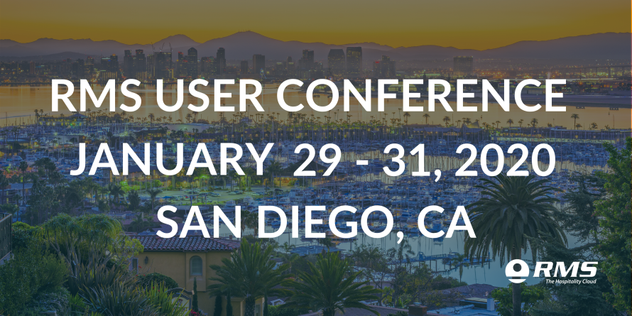 RMS Announces 1st Annual User Conference in 2020!