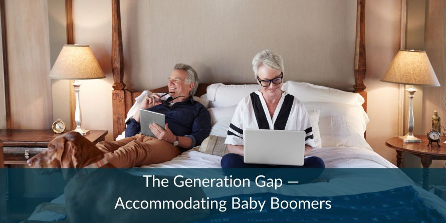 The Generation Gap — Accommodating Baby Boomers