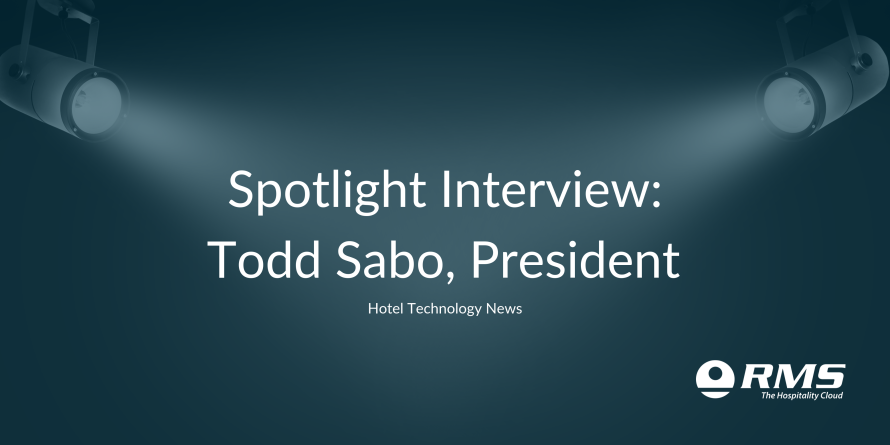 Spotlight Interview: Todd Sabo, President, RMS North America