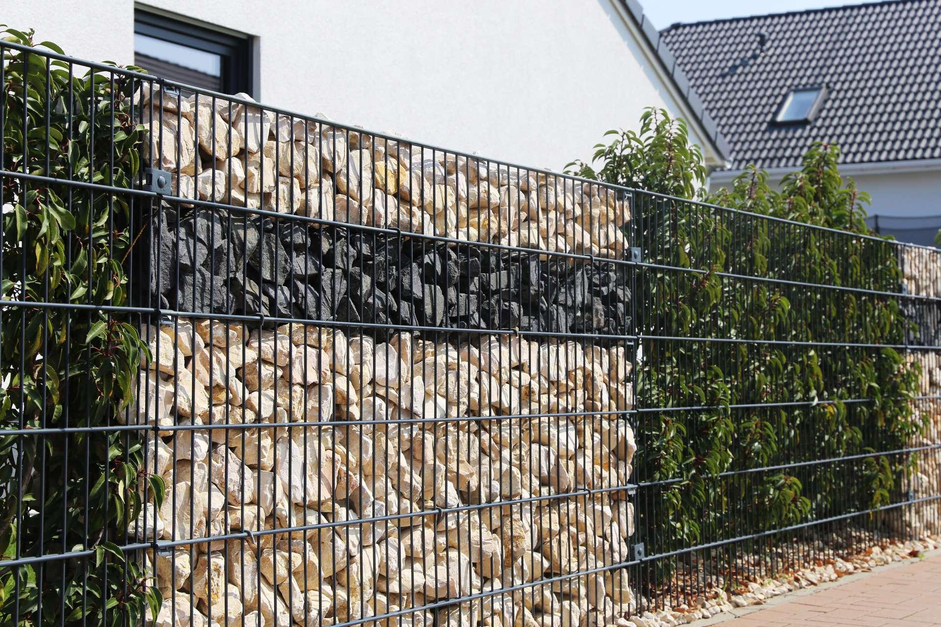 Garten Sichtschutz Metall Local Ch