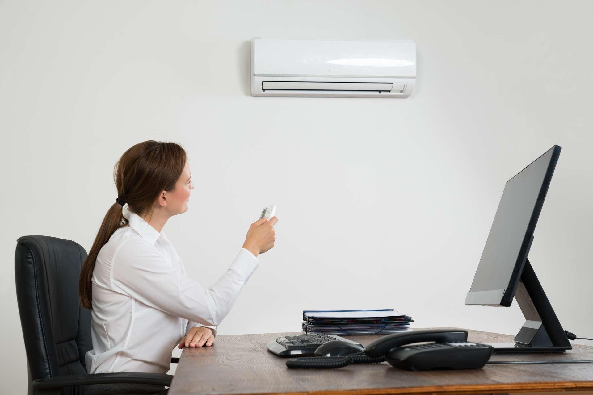 Klimaanlage im Büro
