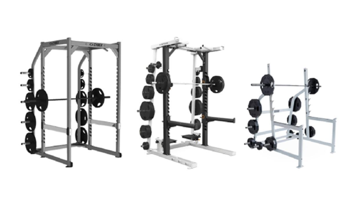 1decc5355 Se você precisar subir a barra para fazer back ou front squat esta deve ser  posicionada no ponto médio do seu esterno.