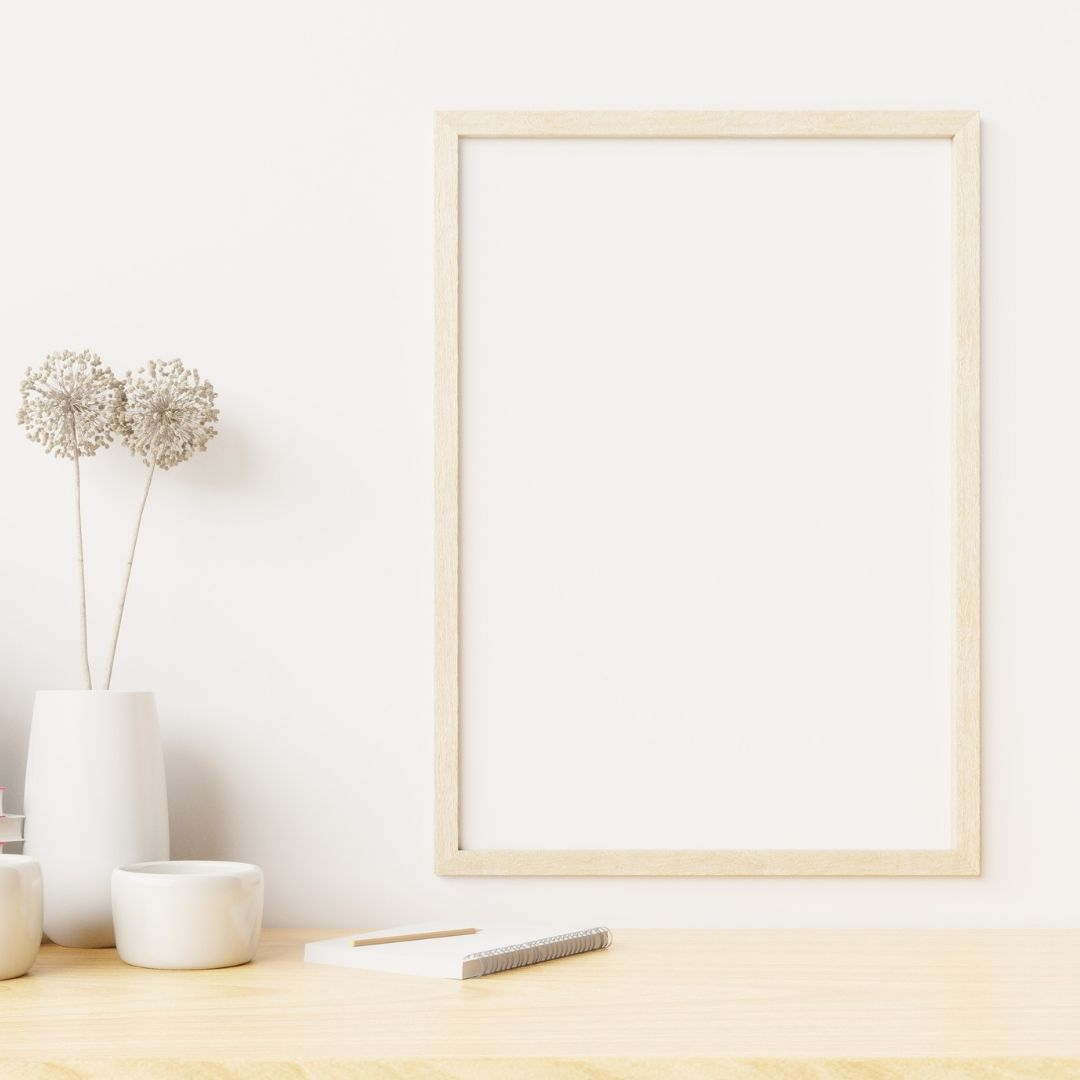 tableau blanc deco bureau