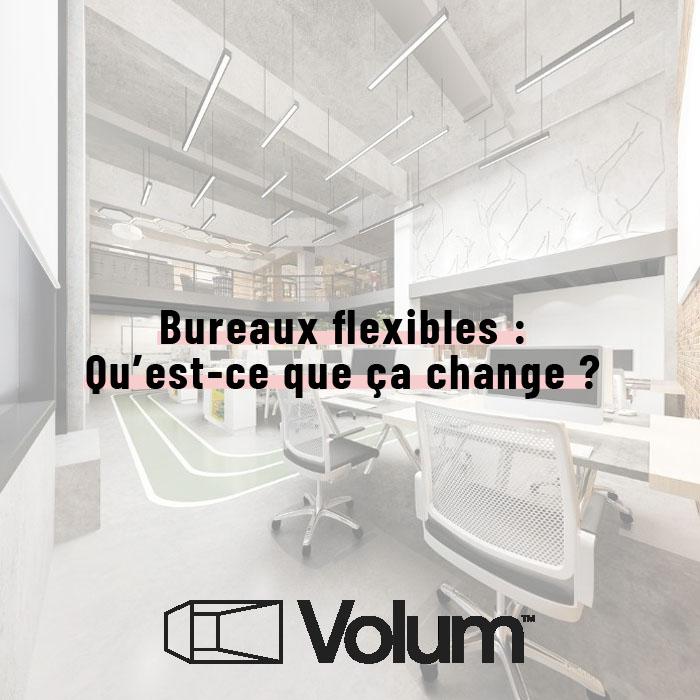 Bureaux flexibles ou flex office