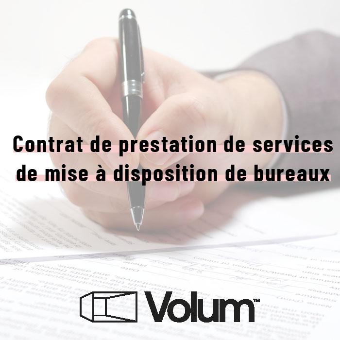 Description et avantages du contrat de prestation de services pour la mise à disposition de bureaux
