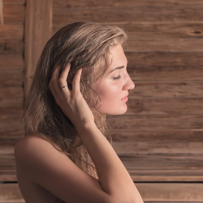 Massage scalp to prevent hairfall
