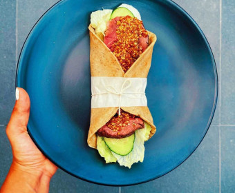 Recipe - GF Herb Paleo Wraps