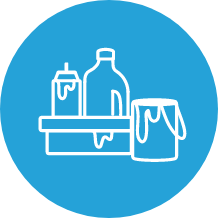 Household Hazardous Waste Icon