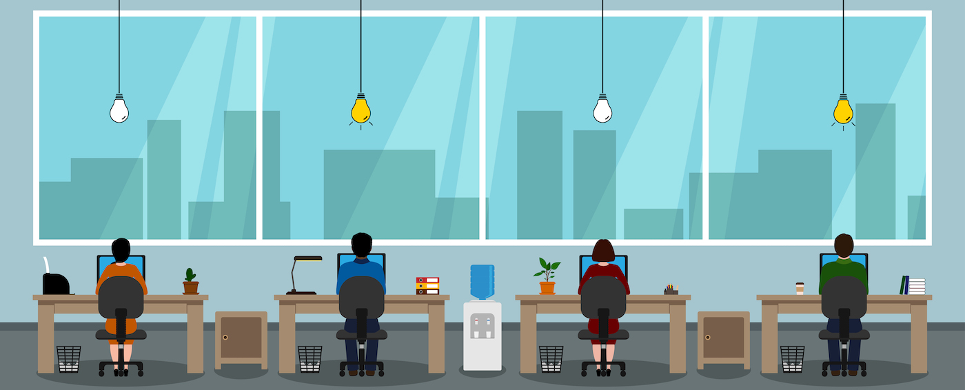 Bright Idea: Social Distancing Lights for Offices