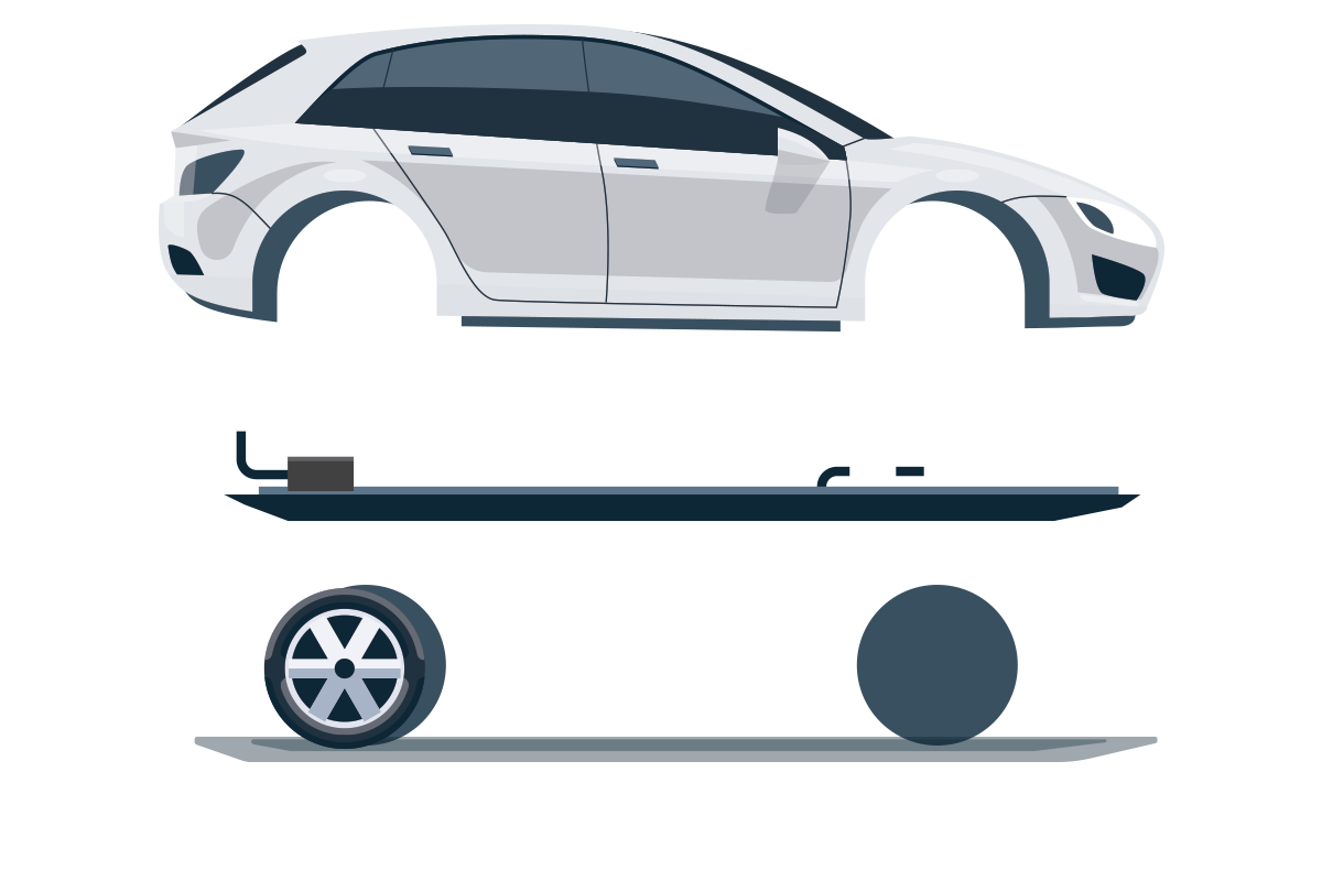 Here S How An Electric Vehicle Works Hover Over For Details