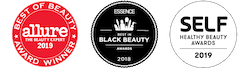 Allure Best of Beauty Award, Essence Black Beauty Award, SELF Award