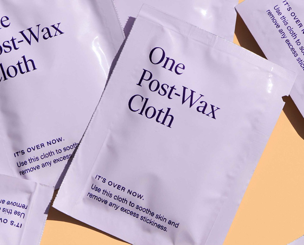 Post-wax cloths
