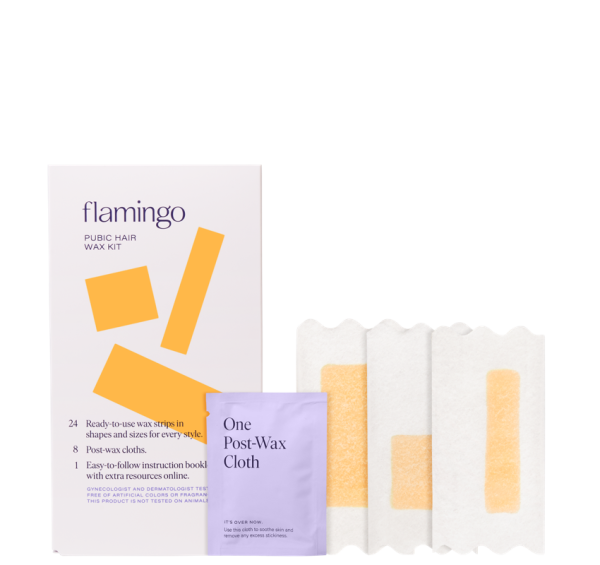 New - Flamingo Pubic Wax Kit