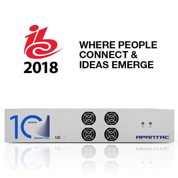 Apantac Showcases HDMI 2.0 Multiviewer for 4K/UHD at IBC 2018