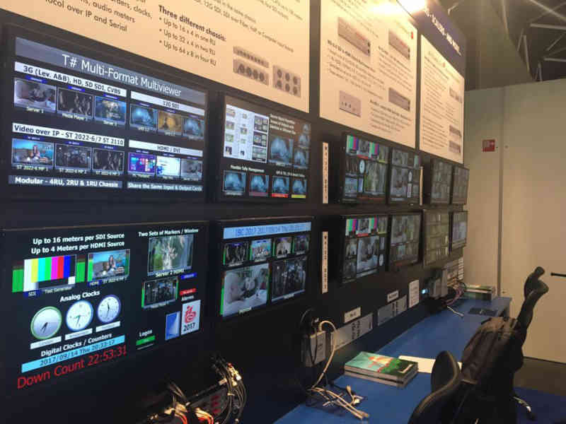 TAHOMA T# Multiviewers - Up to 12G Support Dense Multiviewer system