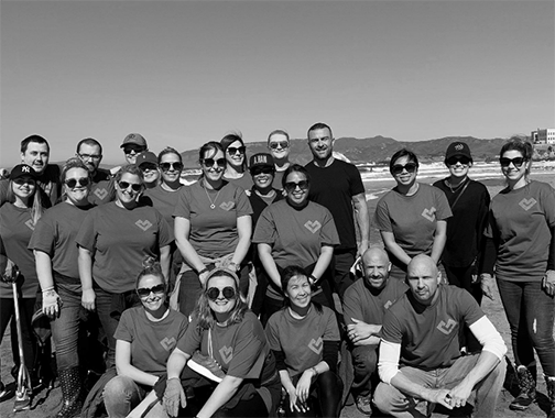 Guidewire employees create a culture of volunteering and giving back.