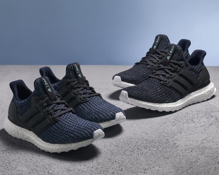 Adidas trainers made from 95% ocean plastic