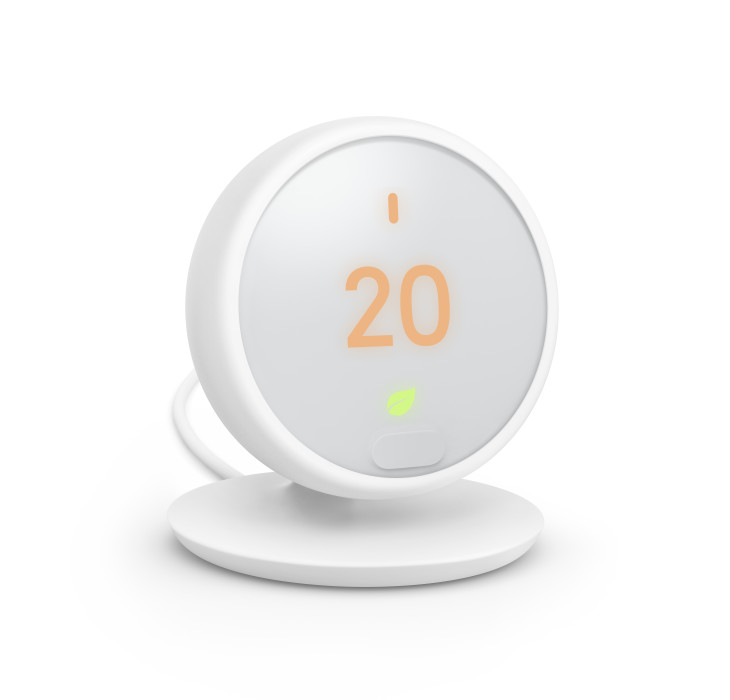 A Google Nest thermostat