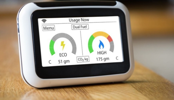 An in home display for a smart meter.