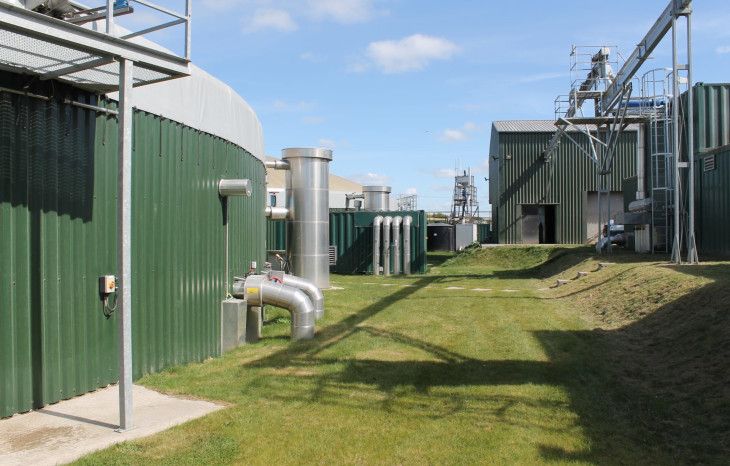 A picture of Icknield Farm green gas site