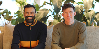 A picture of Hayden and Amit, co-founders of Bulb
