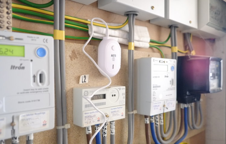 A selection of smart meters