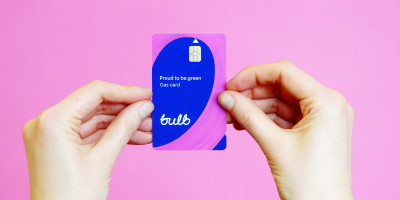 A picture of the Bulb prepay electricity card