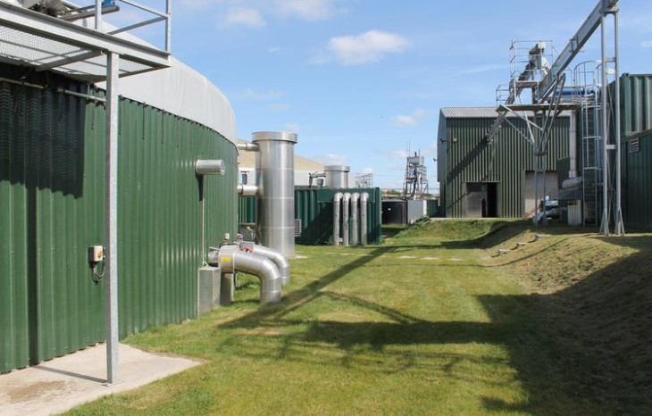 A photo of Icknield Farm green gas generator
