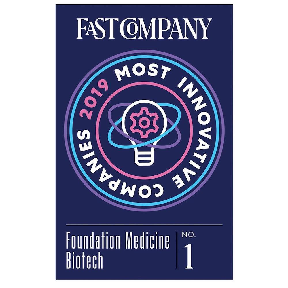 Fast Company Most Innovative Companies - Foundation Medicine