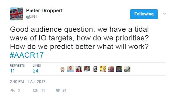 IO Targets Tweet - How Can We Predict What Will Work Better