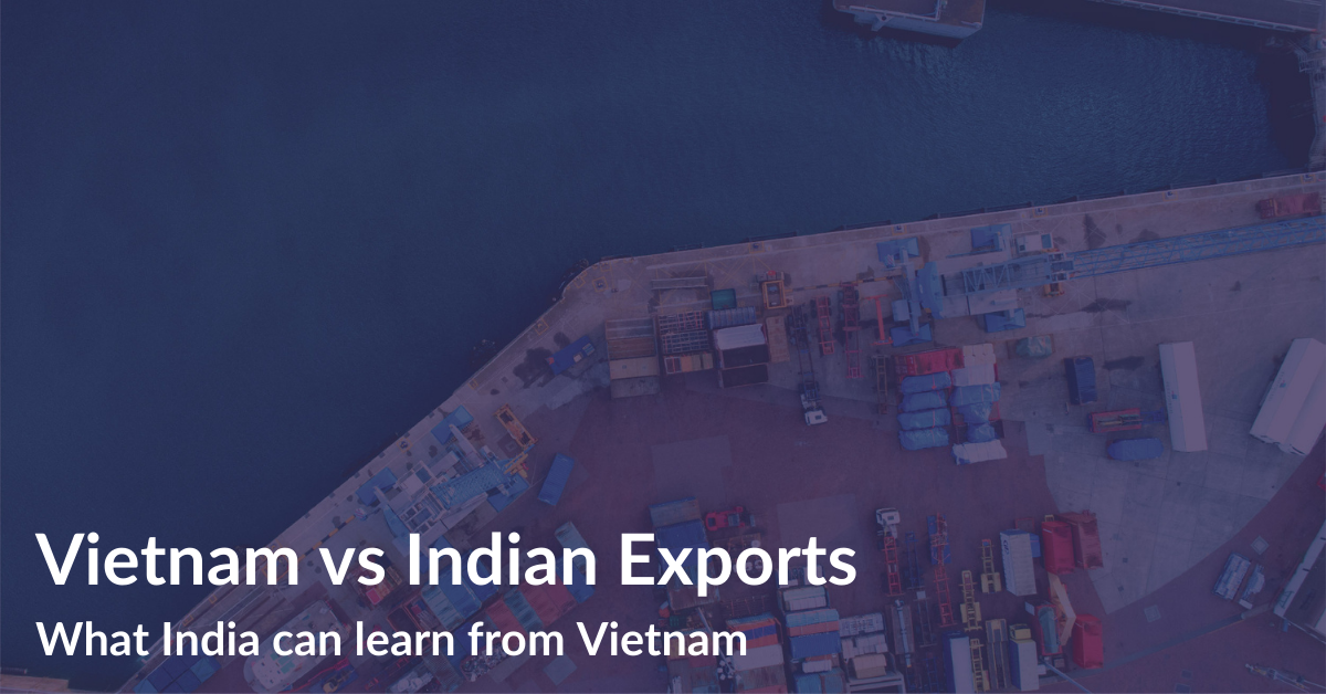 Vietnam Vs Indian Exports