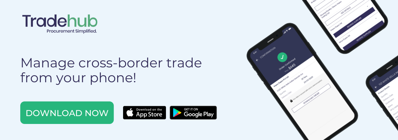 Trade Hub - Procurement Solution for Global Trade