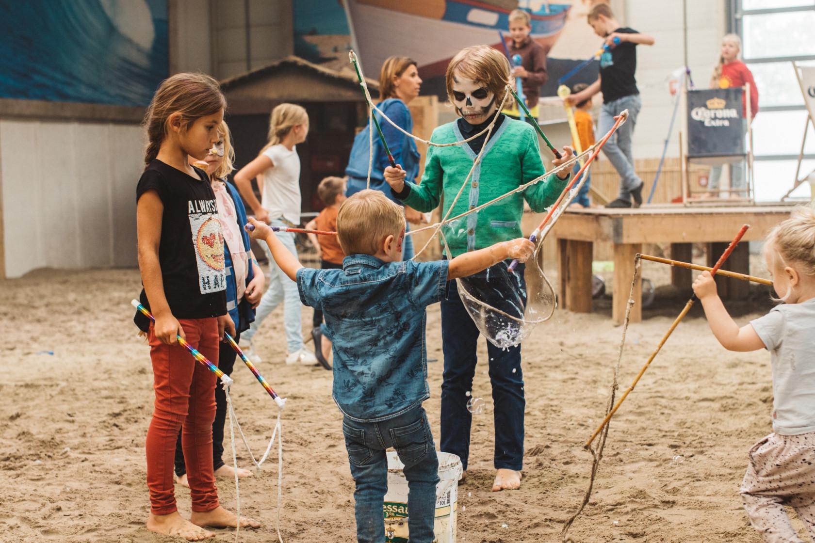 Kinderen festival activiteiten