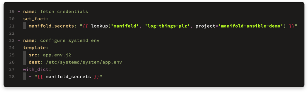 ansible-fetch-creds