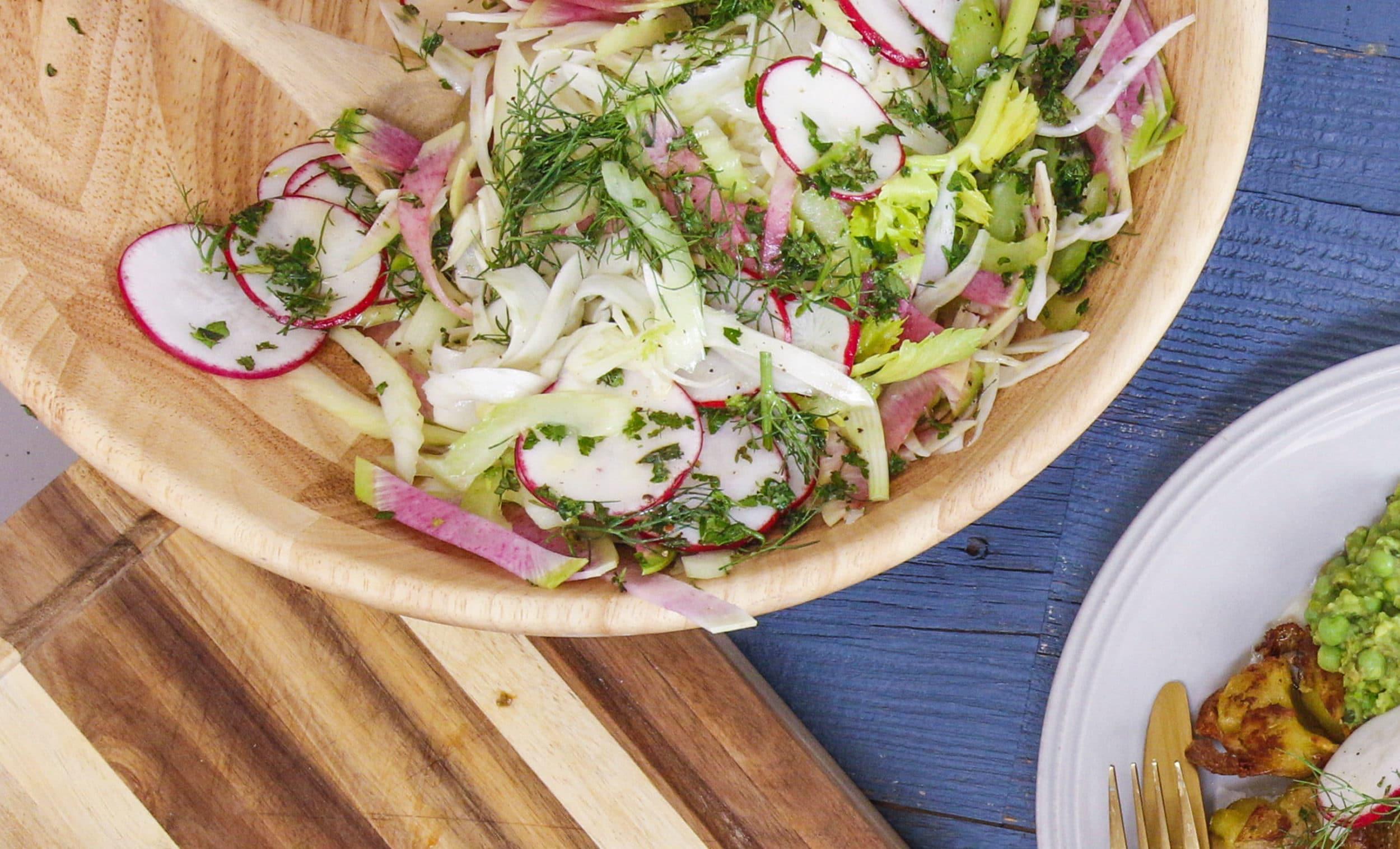 Rachael's Radish, Fennel and Celery Salad
