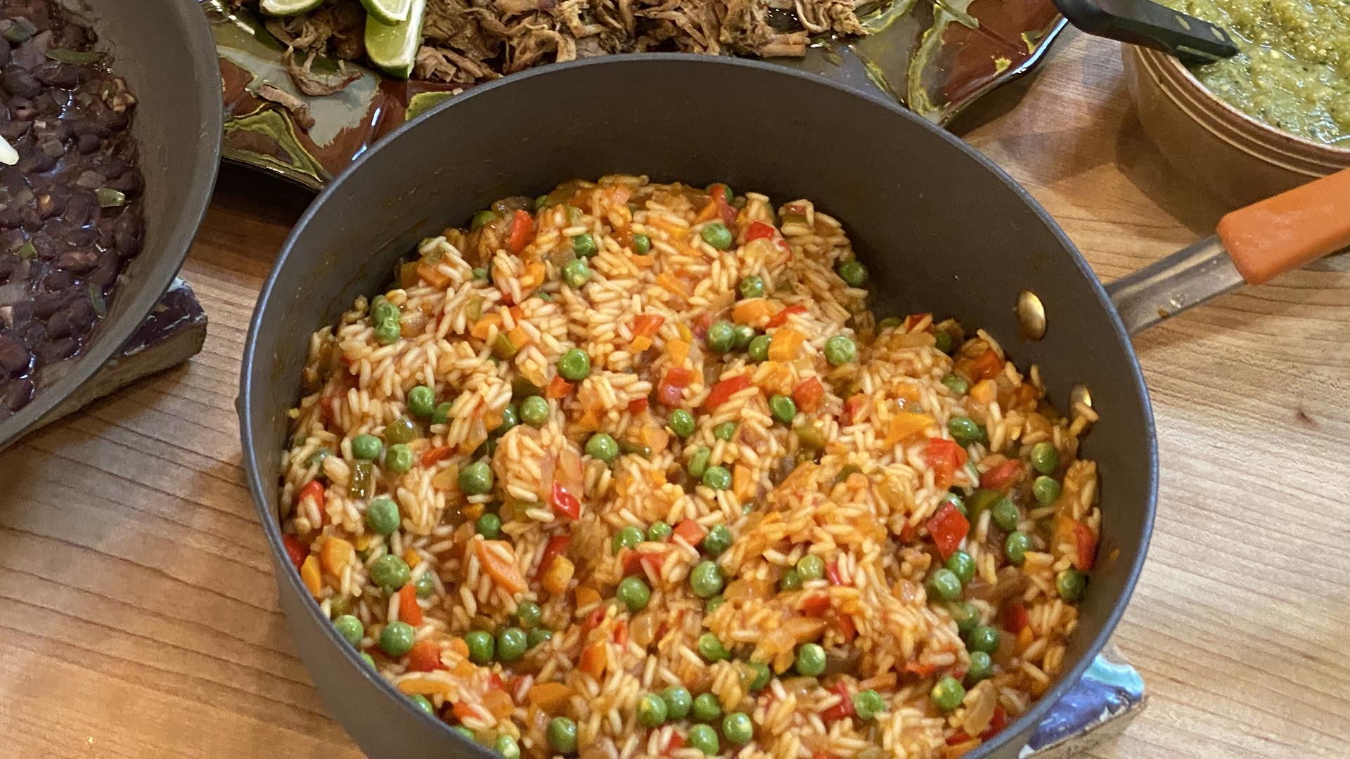 Mexican-Style Red Rice