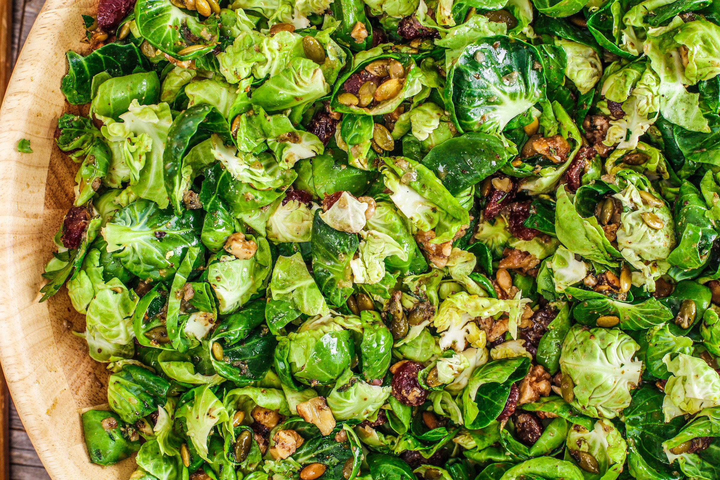 Rachael's Brussels Sprouts Salad