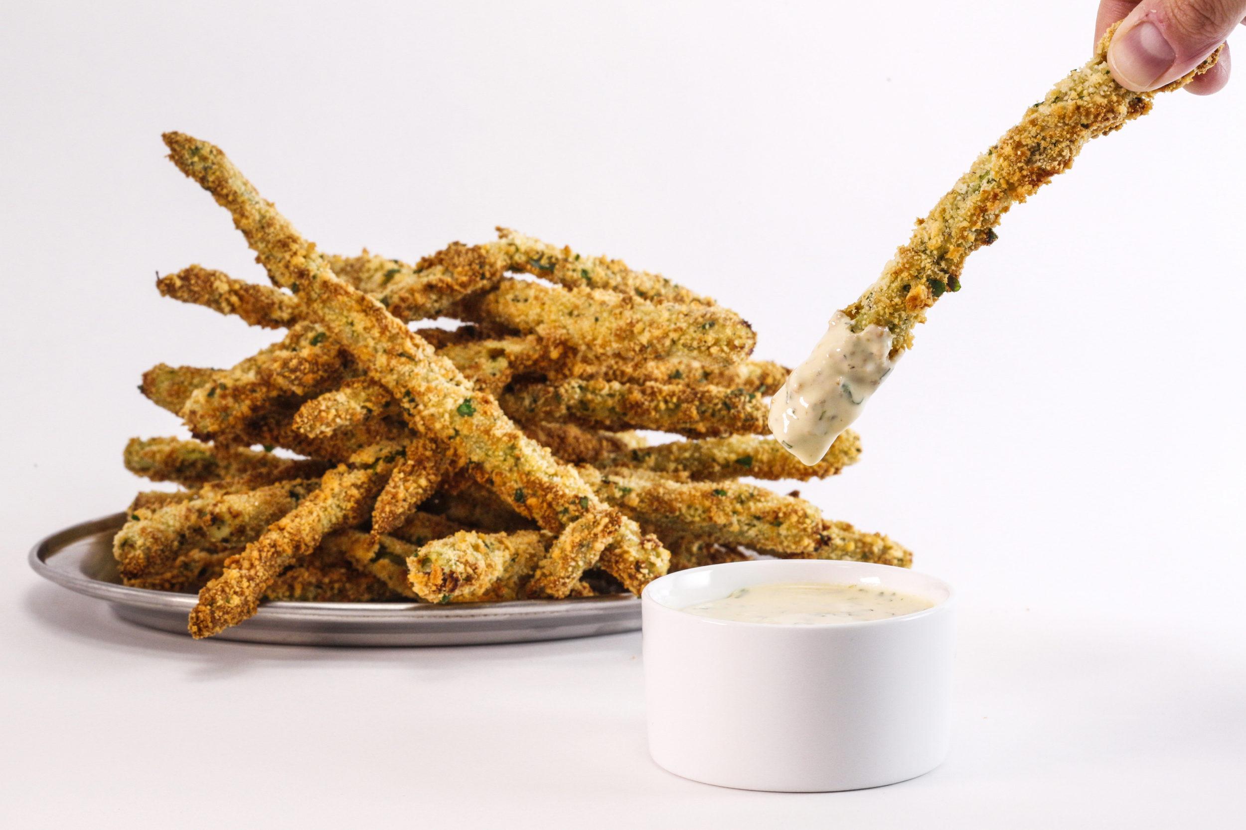 Rachael's Oven Fried Asparagus