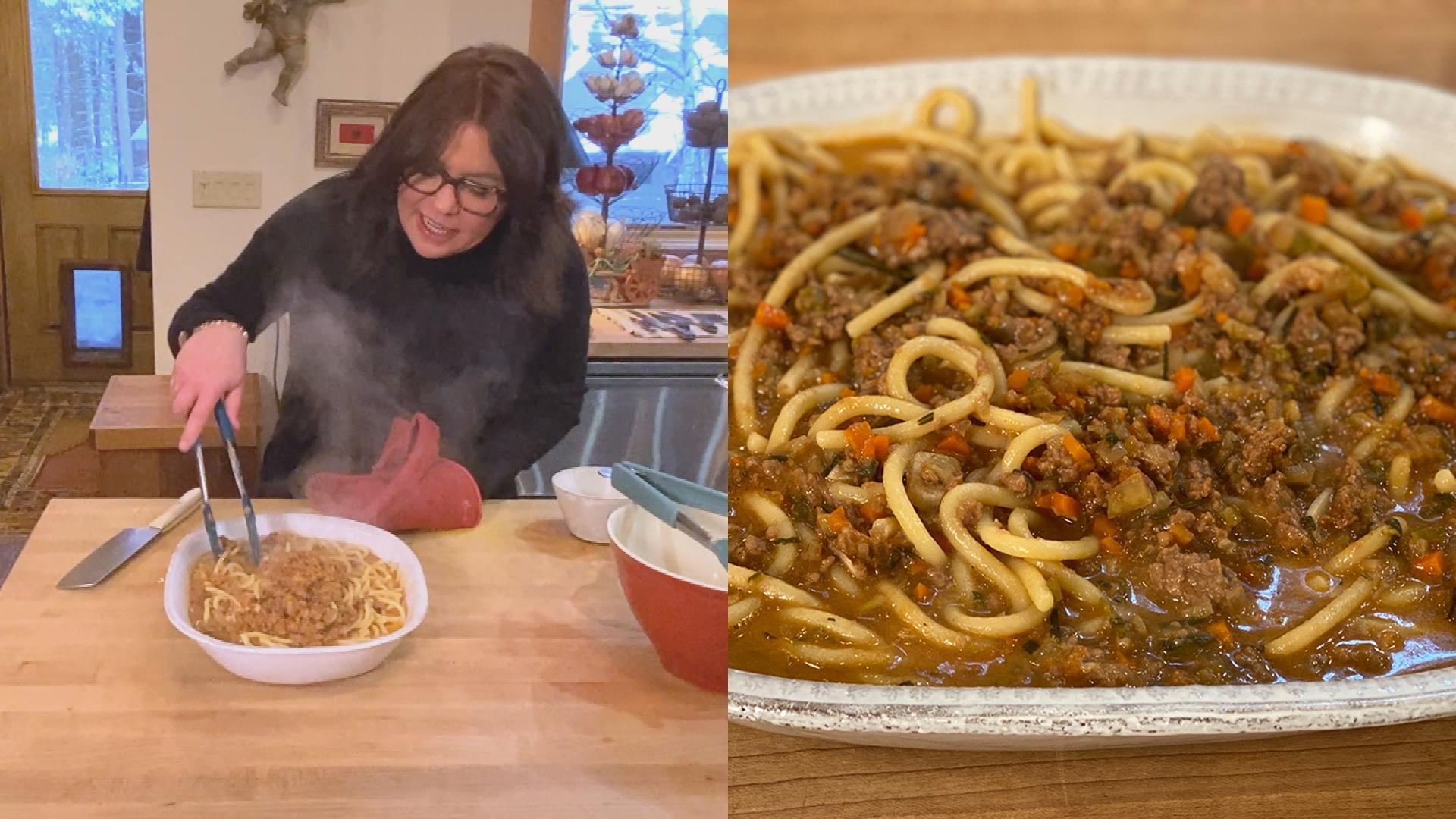 Tuscan Ragu with Pici | Meatless Ragu Recipe With Pasta (Vegetarian!)