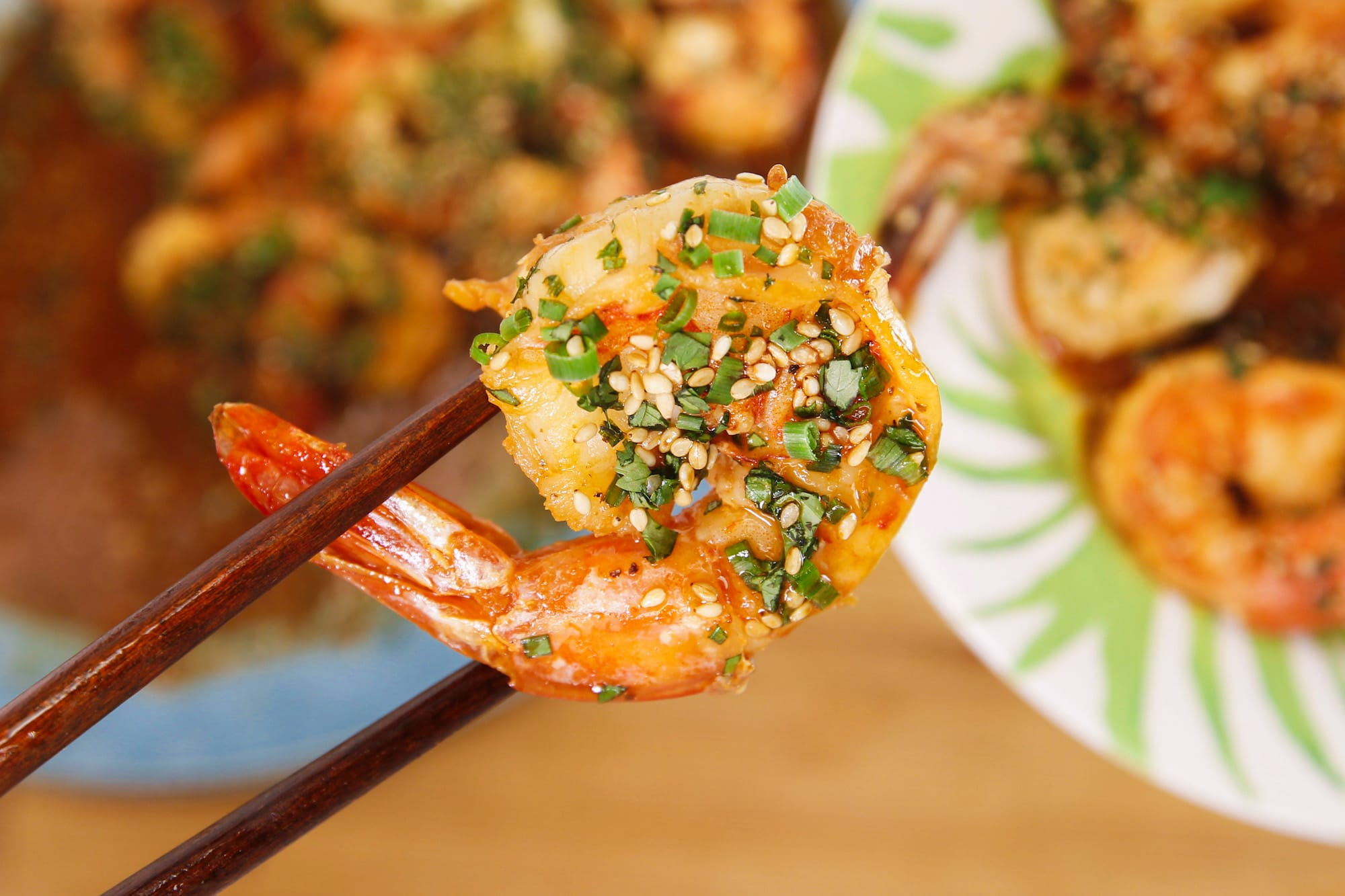 Rachael's Chinese-Style Shrimp Scampi